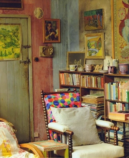 Decorating Inspiration: A Room of Colour