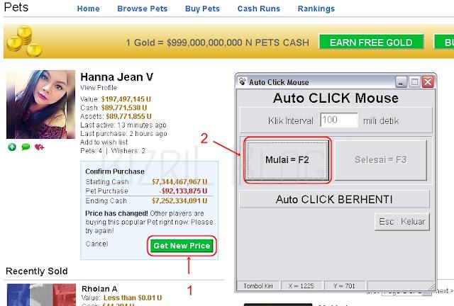 Cara Mouse Auto Click 2