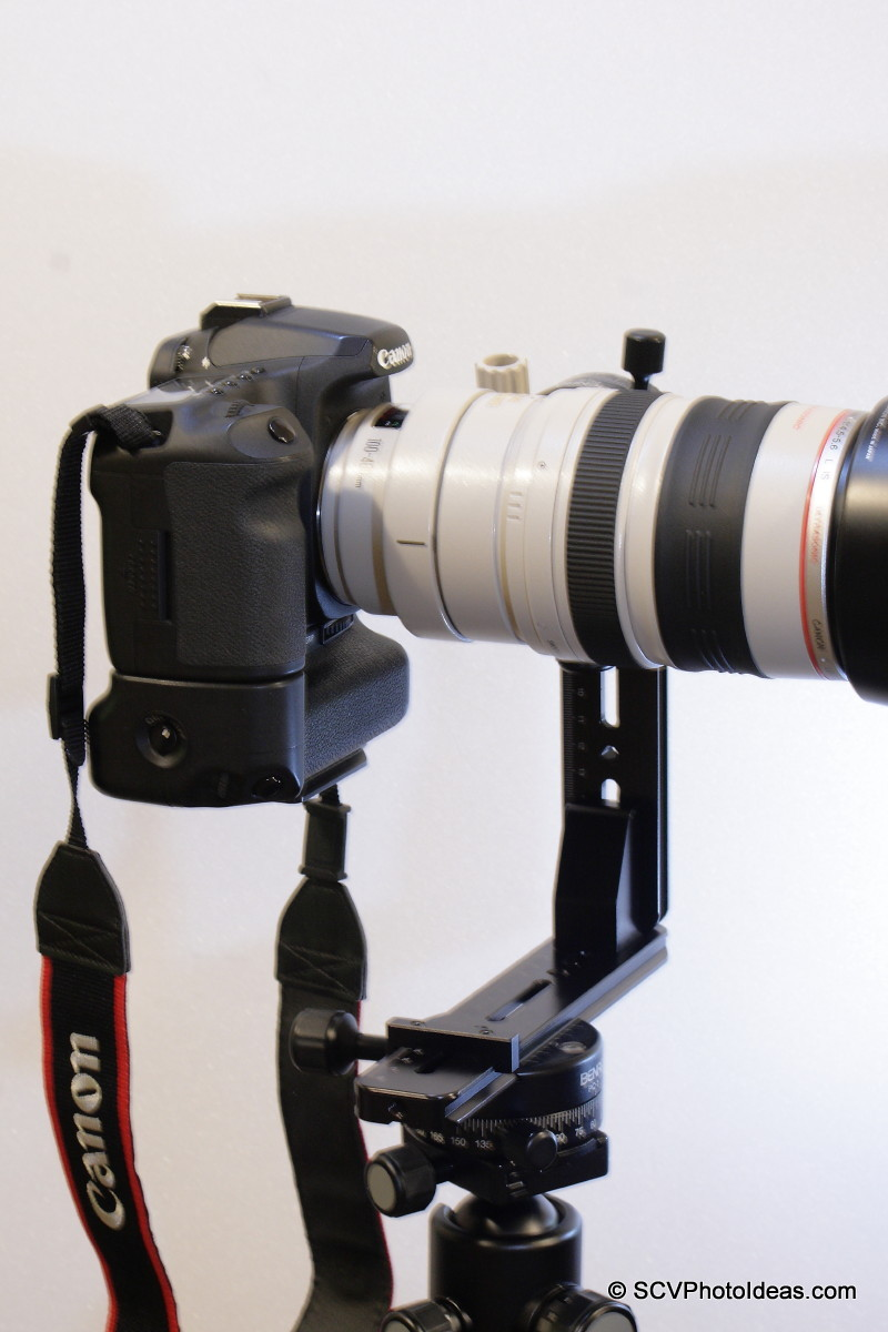 Canon EOS 50D / EF 100-400 L IS USM on Panorama Head Ver I horizontal right