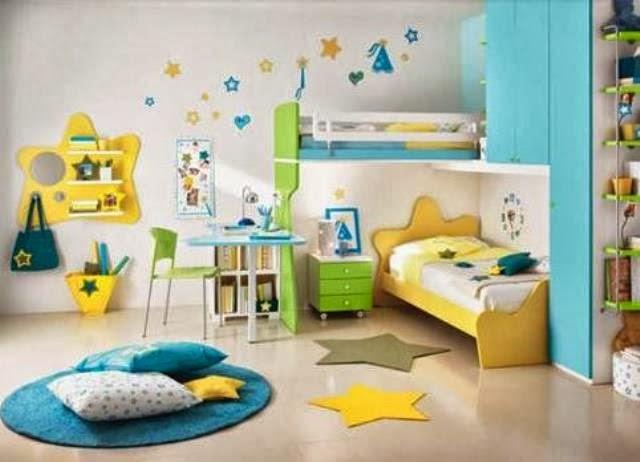 desain kamar tidur cute untuk anak perempuan contoh