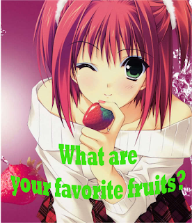 what are your favorite fruits?