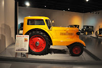 Tractor in the museum