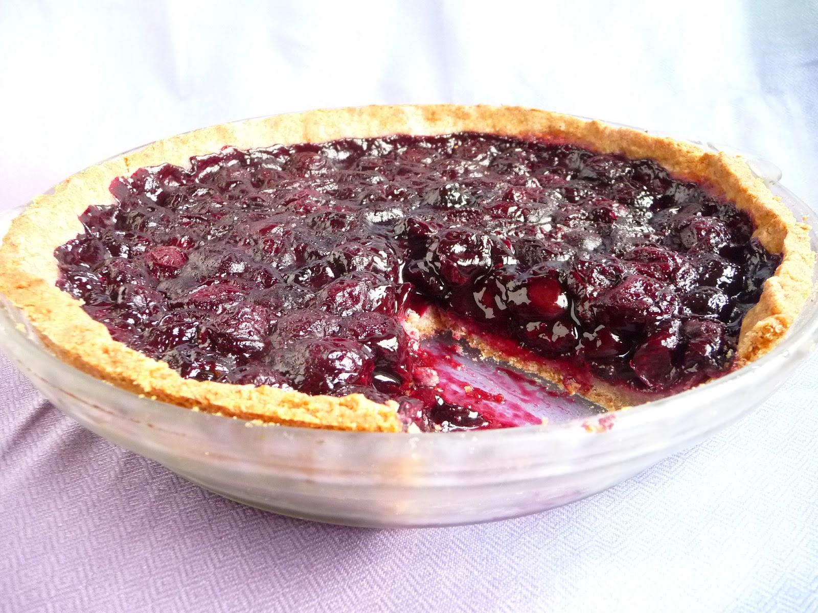 ... Cherry Pie With My Favorite Pie Crust (Gluten-Free, Sugar-Free, Vegan