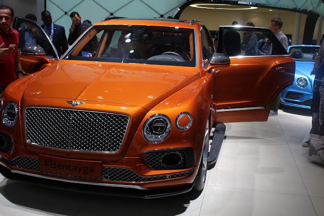 Bentley Bentayga Weltpremiere auf der IAA 2015 in Frankfurt