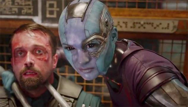 Nebula kills man in Guardians of the Galaxy
