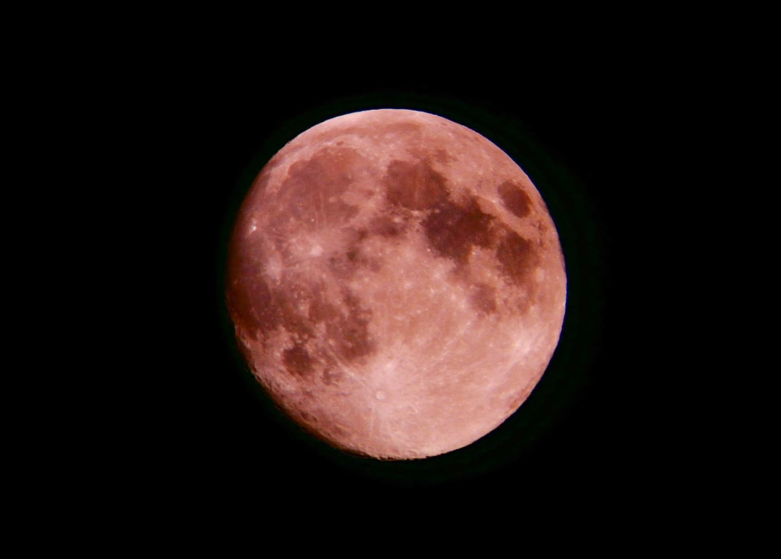 A photo taken using point and shoot camera and the Astromaster 70AZ and 20mm eyepiece.