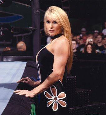Sable standing near the ring