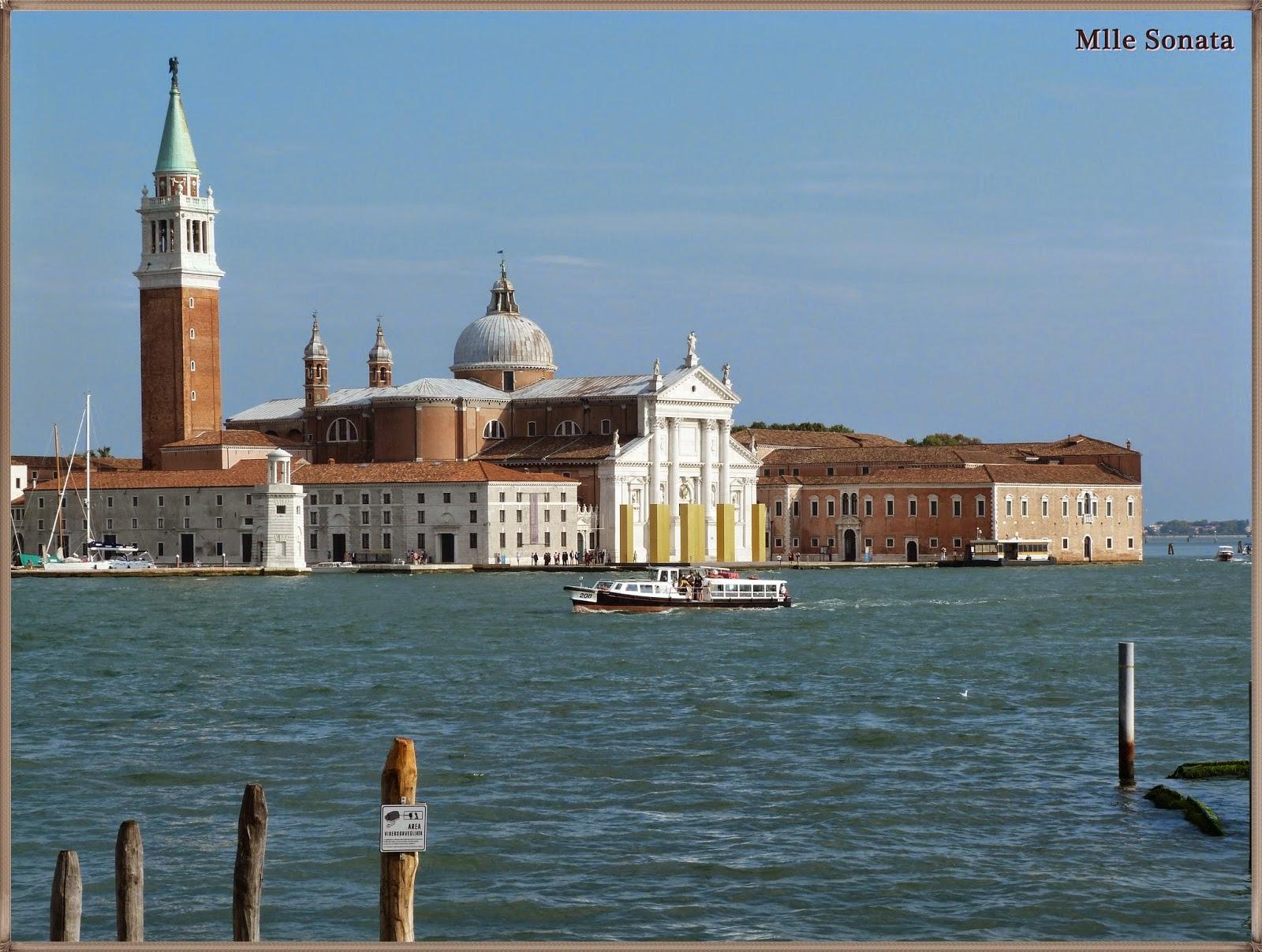 Voyage Italie Venise Basilique San Giorgio Maggiore