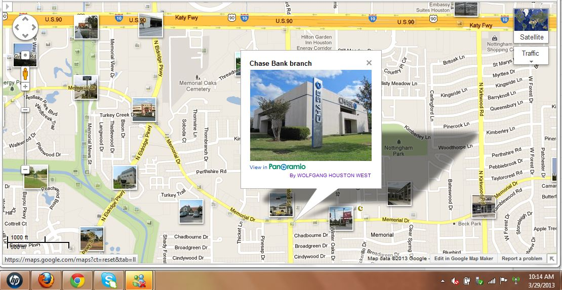 Chase Bank Energy Corridor HTownWest Photo Blog - Chase bank locations map