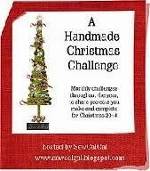 SewCalGal's A Handmade Christmas Challenge