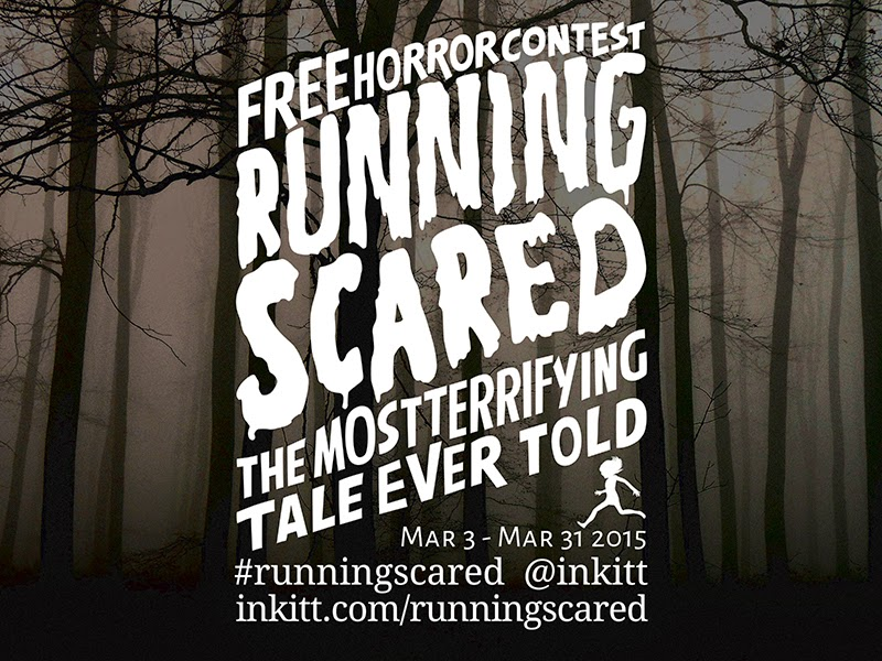 Running Scared: The Most Terrifying Tale Ever Told #WritingContest
