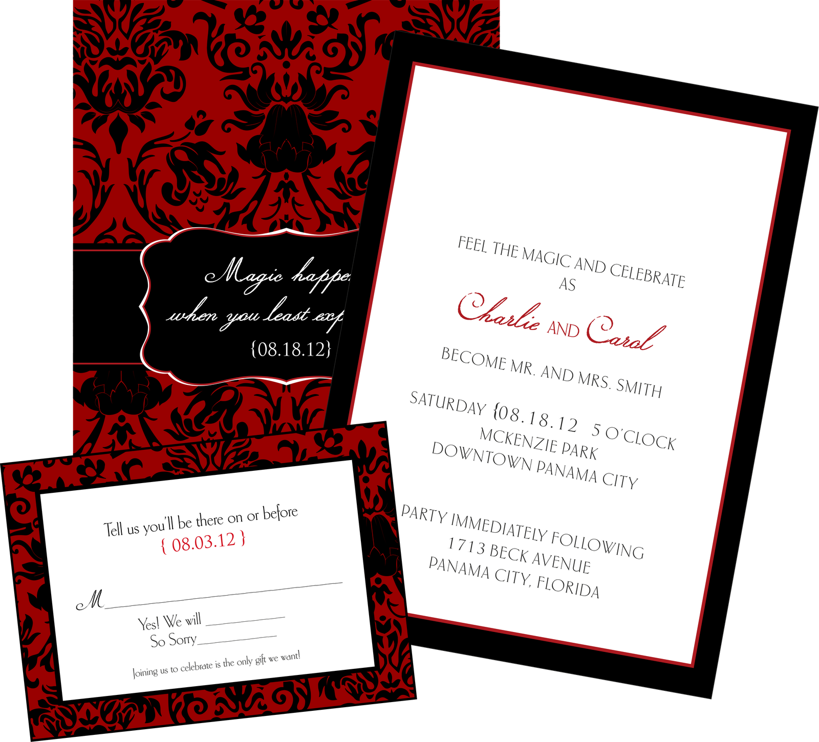 6 things not to forget on your wedding invitations get With wedding invitations and rsvp dates