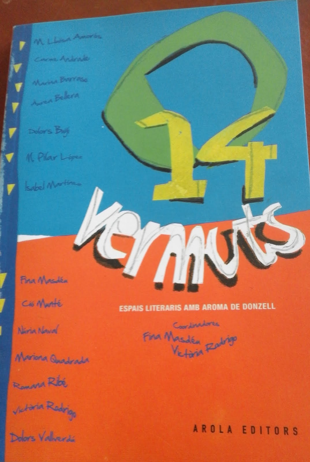 14 vermuts <br>Arola Editors, 2016