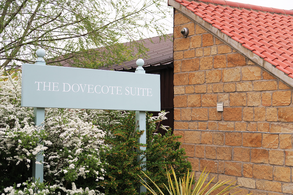 The Dovecote Suite at Ox Pasture Hall
