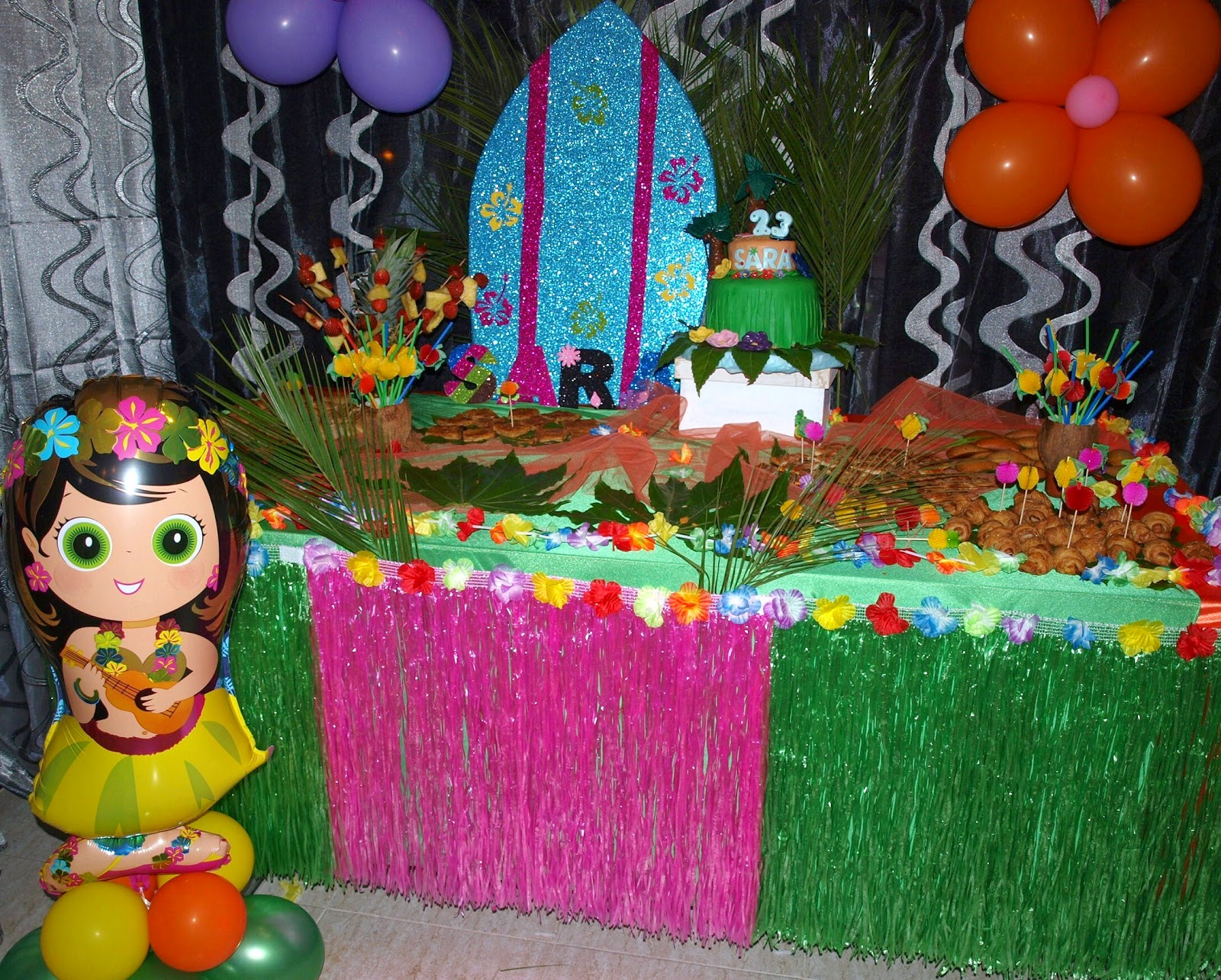 La casita de esther fiesta hawaiana for Todo decoracion