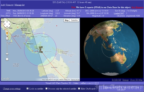 Besok Pagi, ISS Kembali Melintasi Langit Indonesia