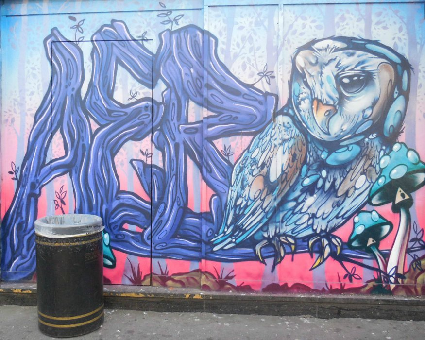 street art in croydon art's quarter part 2
