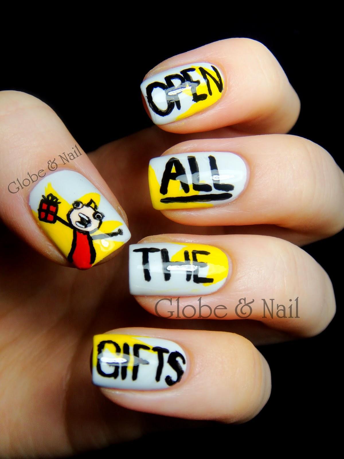 Globe & Nail: I\'m Gettin\' Nuttin\' For Christmas