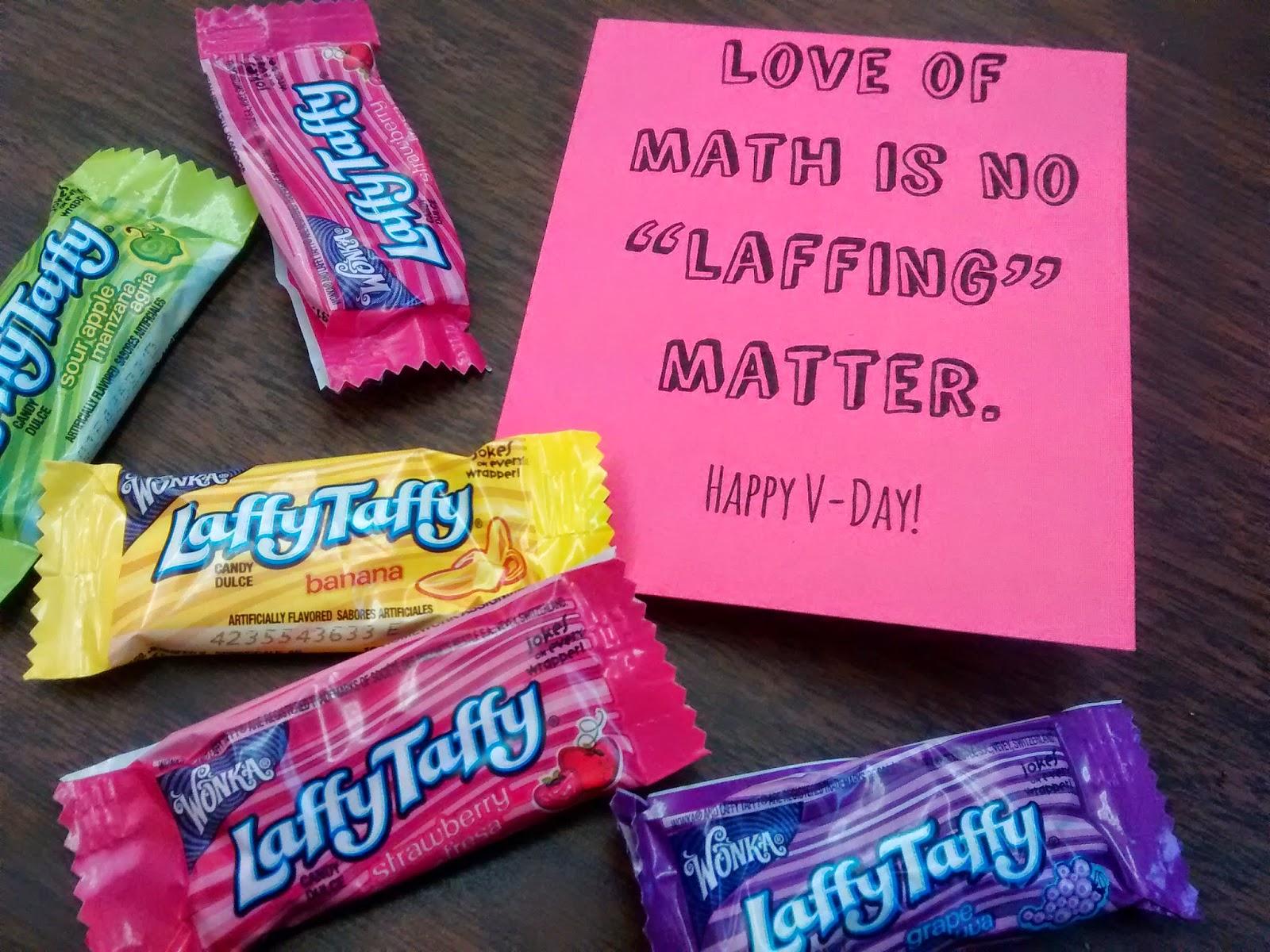 Math = Love: Laffy Taffy Math-y Valentines