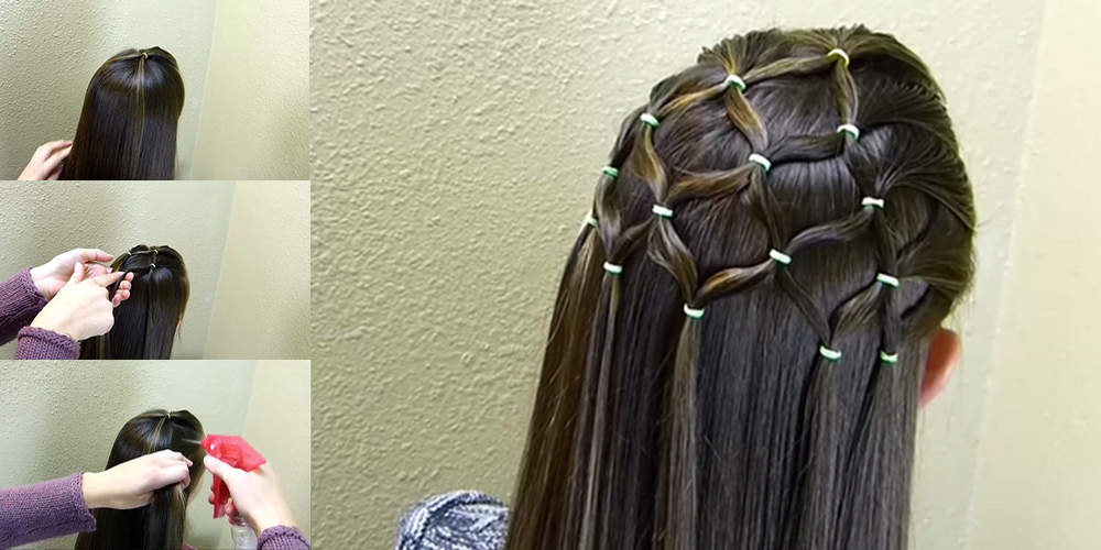 Beautiful Elastic Tree Hairstyle Tutorial 2016 | Life With Styles