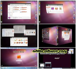 Ubuntu SkinPack 9.0 untuk Windows 7