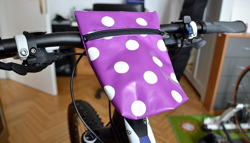 Fahrradtasche | Wachstuch| freinaht.blogspot.com