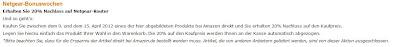 Amazon-Aktion: 20 Prozent Nachlass beim Kauf bestimmter Netgear-Router