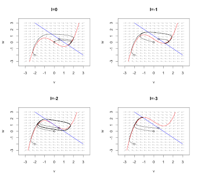 Phase plane analysis in R