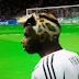 Face de Paul Pogba New Hair 2016