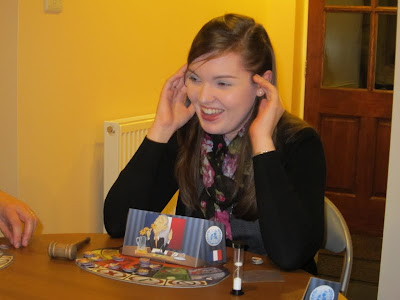 Article 27: The UN Security Council Game - Head in hands the chairman just wishes the players would stop pressurising her!