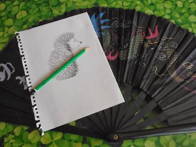 création d'un logo par severine peugniez pour l'association sportive le herisson de jade pratiques énergetiques traditionnelles chinoises