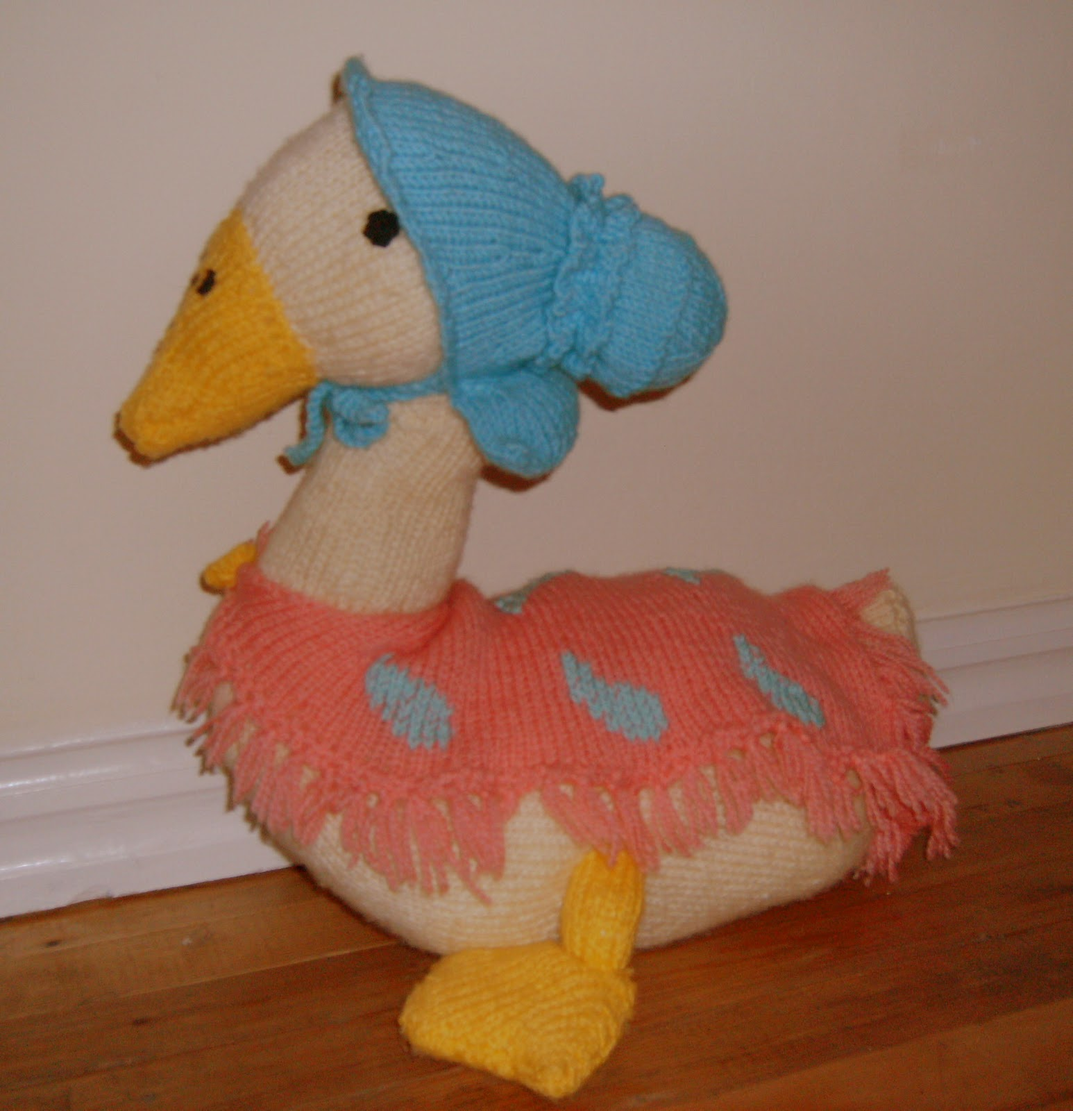Knitting Addict: Jemima Puddle duck