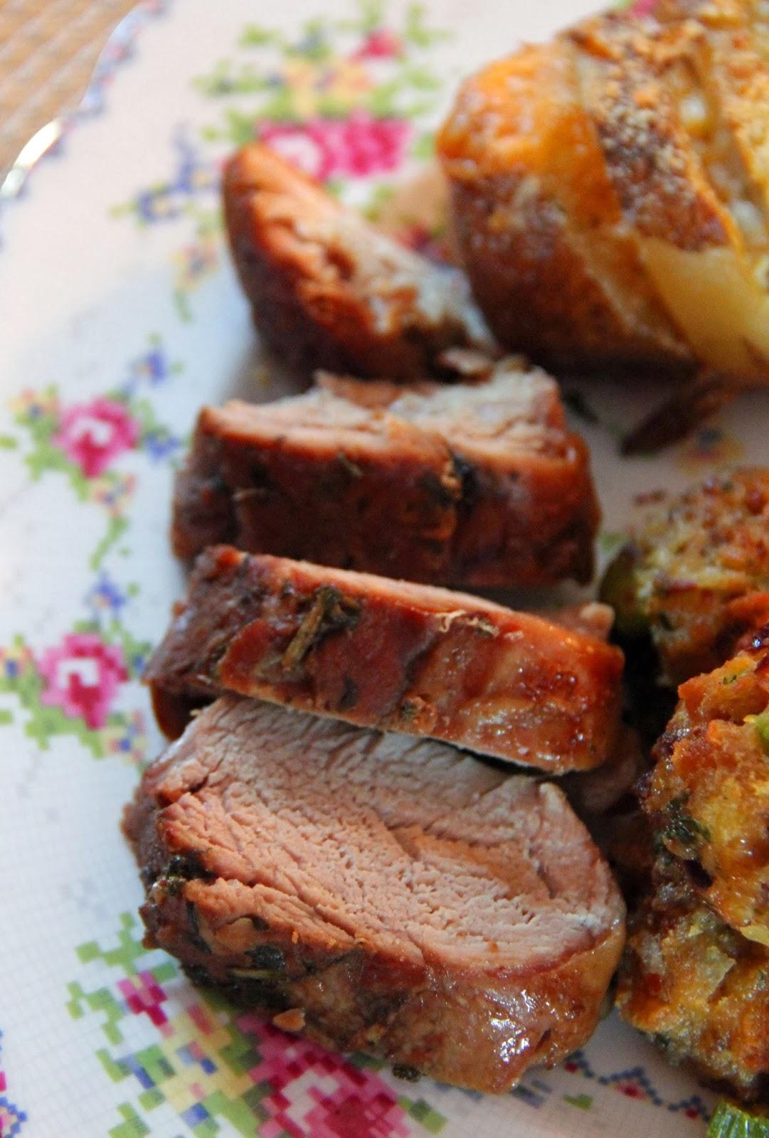 how to cook pork tenderloin in oven with foil uk