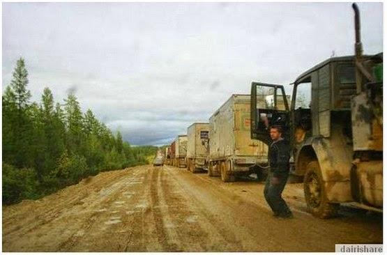 Inilah Lebuhraya Paling Extrem Hanya Di Rusia