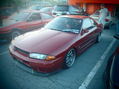 Drift Beat R32 Nissan Skyline Zip Tie Bumper
