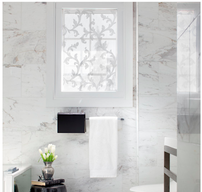 To da loos 17 window decal films to add privacy to your Window coverings for bathroom privacy