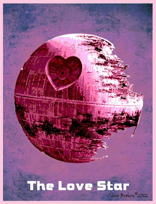 "Романтика в стиле ""Звёздные войны"" фото star wars valentine"