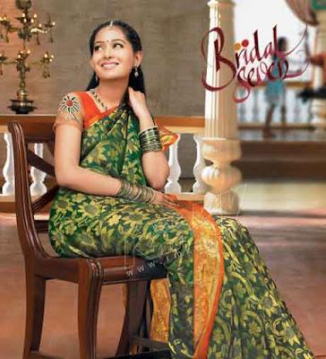 RMKV Bridal Seven Sarees models