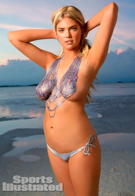 celebrity kate upton body paint scandal   hot actress photos and