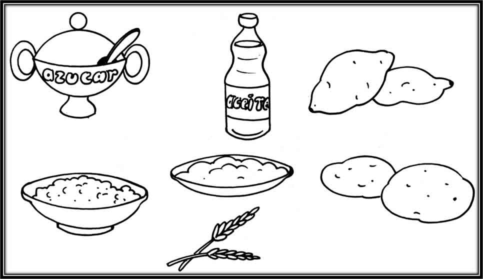 Dibujos de alimentos constructores - Imagui