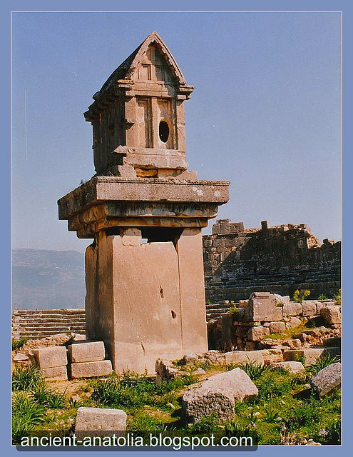 At the Ancient Xanthos City of Lycia