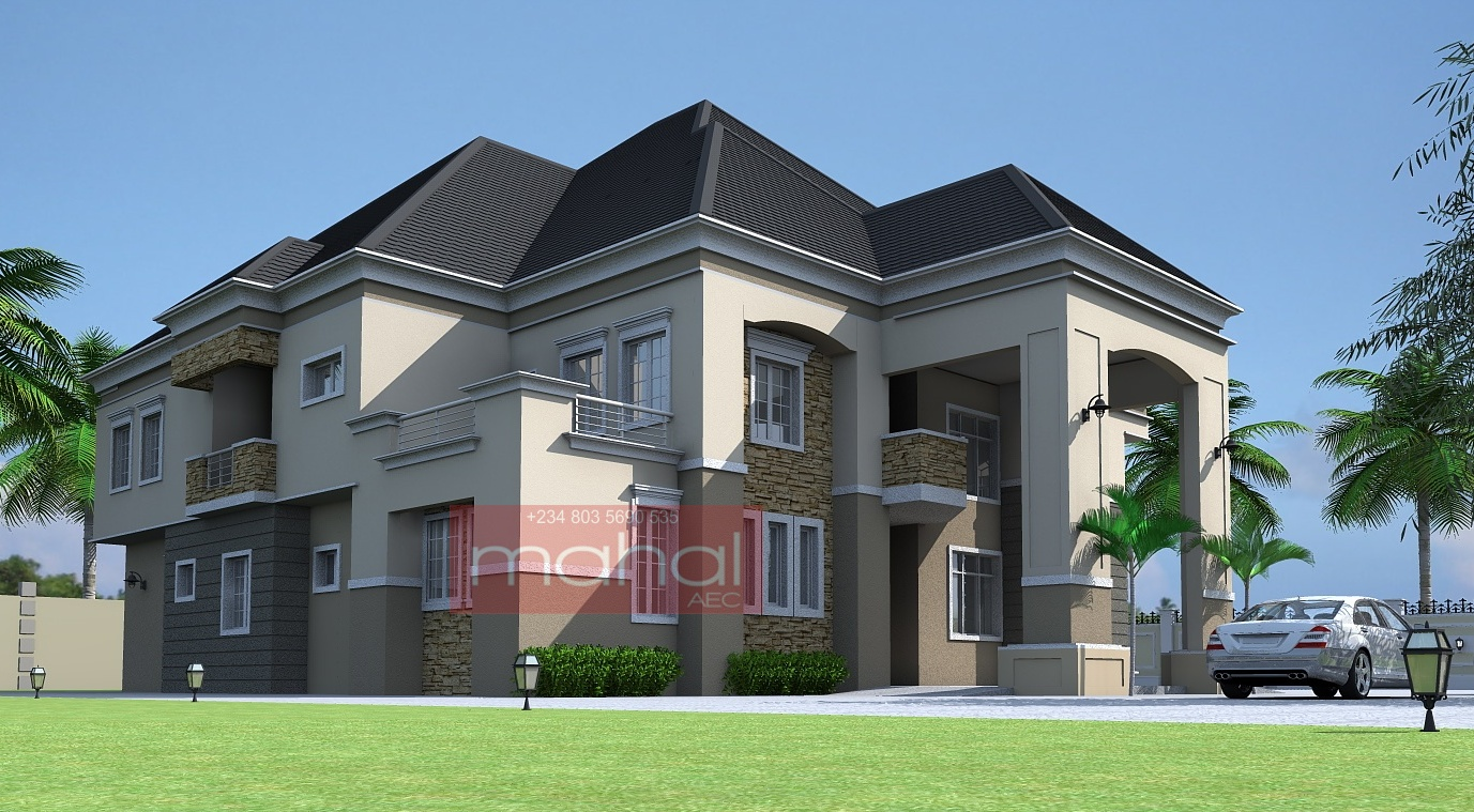 Contemporary nigerian residential architecture luxury 6 for Nigerian home designs photos