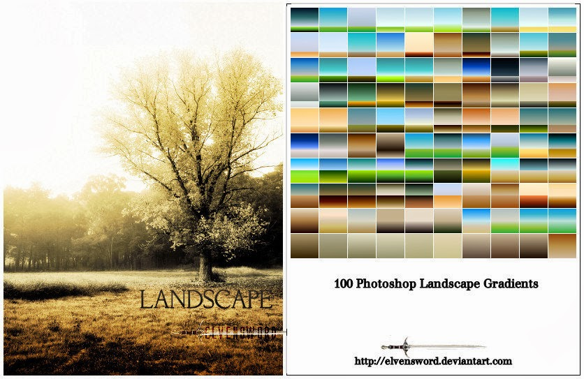 Landscape Ps Gradients