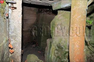 Внутри немецкого бункера