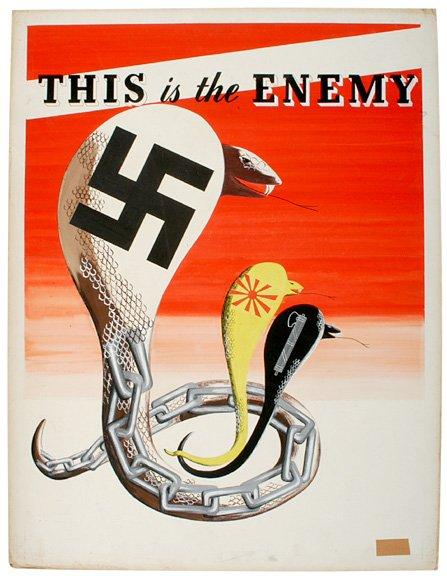 Ww2 Propaganda Posters German In English Historical Photos