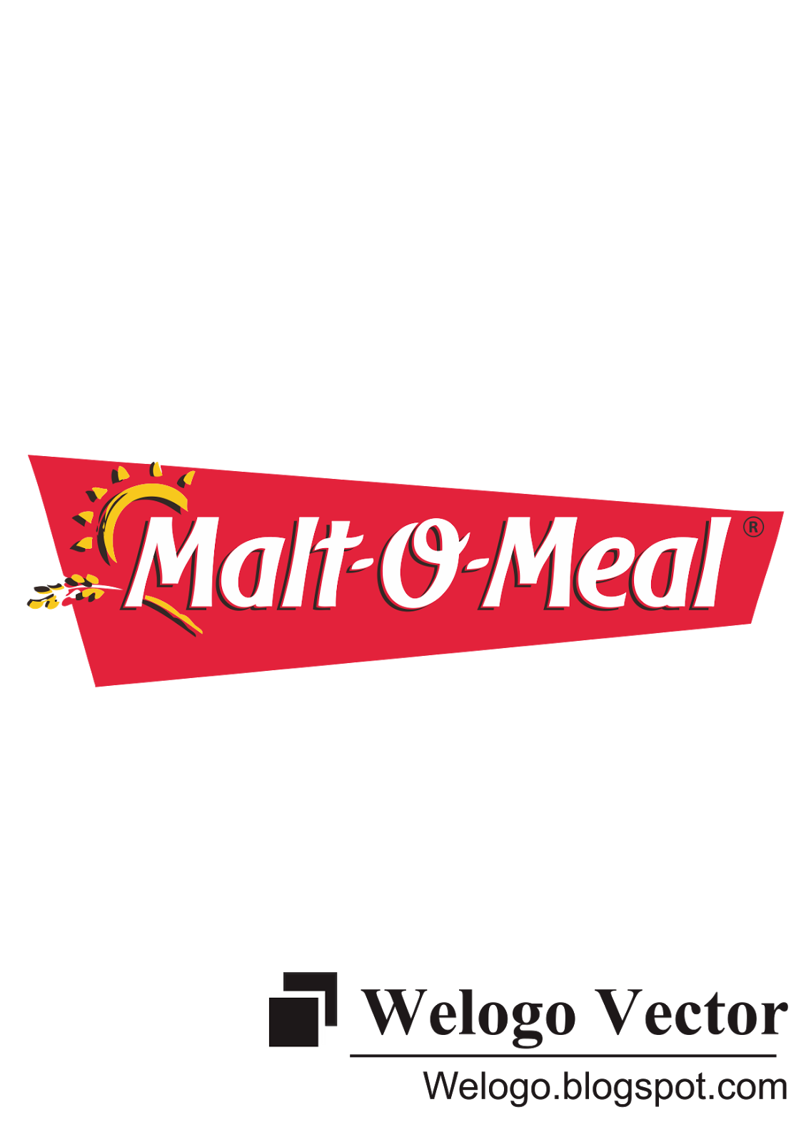 Malt O Meal Vector