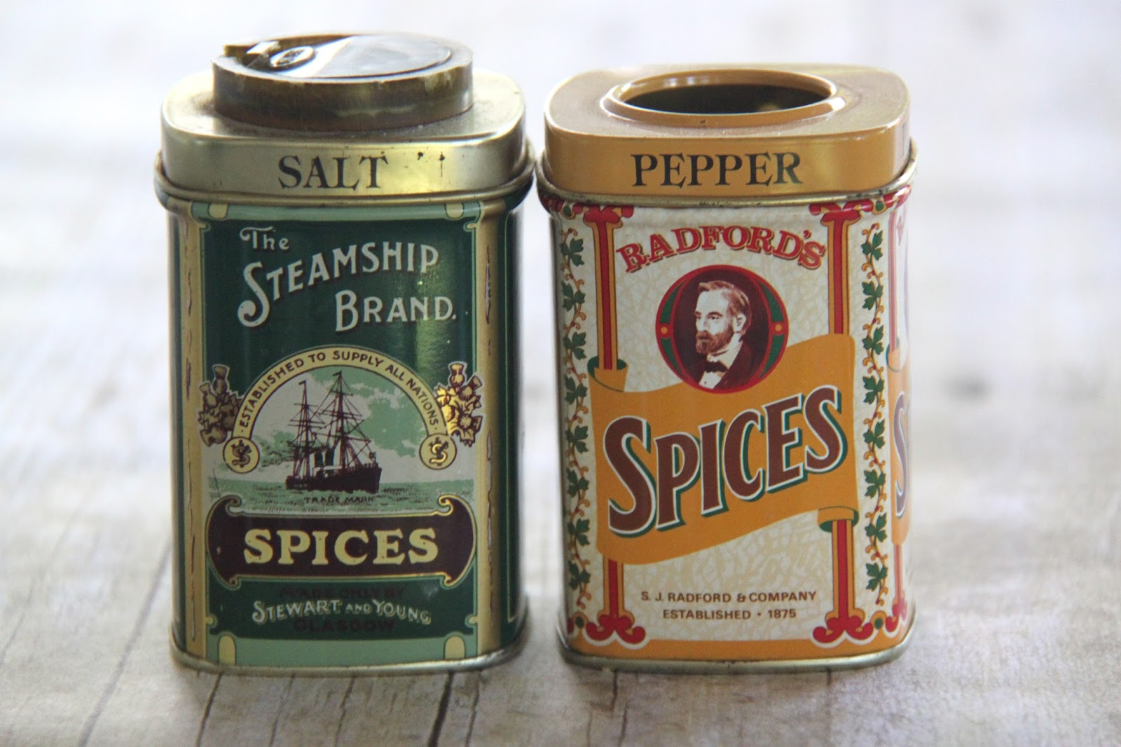 tutorial magnetic vintage tins for your writing utensils