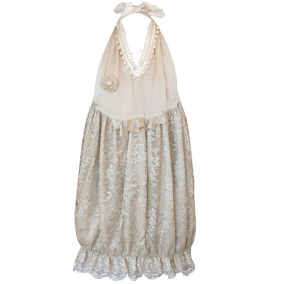 undercover tooth trim lace bubble dress
