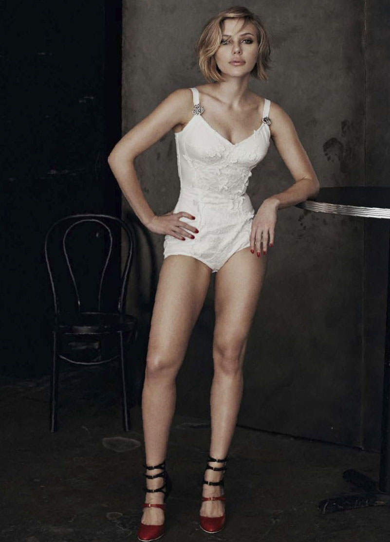 Scarlett Johansson's New Photoshots Hotness