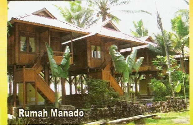 Penginapan Villa Dan Hotel Di Taman Matahari Rumah Menado 10 Org Rp 750000
